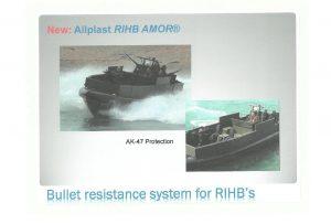 Bullet Resistance Systen for RIHB's