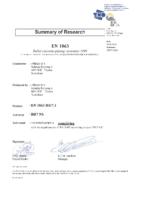 allplast EN1063 certificaat BR 7